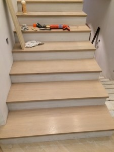 ... Red Oak Staircase 3